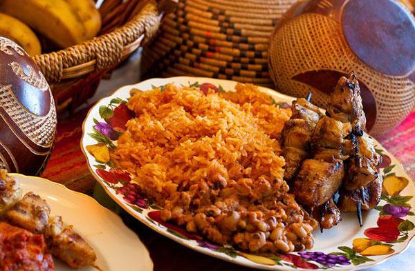 african-cuisine-rice-plate